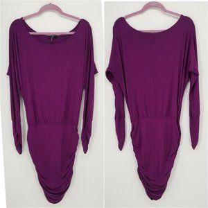 Tart Off the Shoulder Ruched Dress M